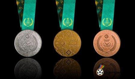 Bakı-2017: Azərbaycan medal sıralamasında lider oldu! (CƏDVƏL, 19.05.2017)