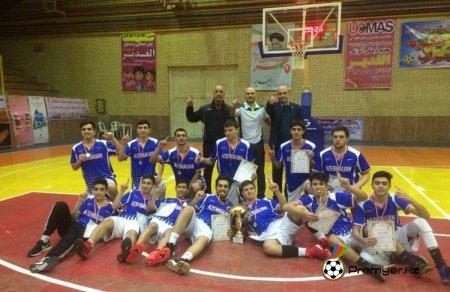 Basketbolçularımız beynəlxalq turnirin qalibi olublar