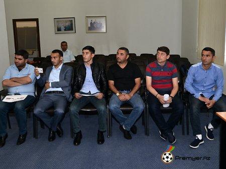 Region Liqasında yarımfinal mərhələsinin püşkü atılıb (FOTOLAR)