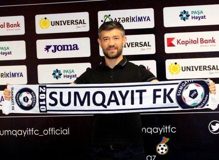 """""""Sumqayıt"""" Elvin Məmmədovun transferini açıqladı"""