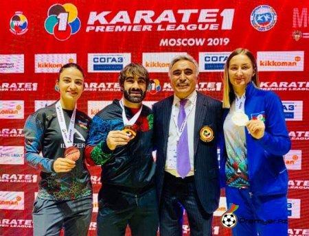 Rafael Ağayev Moskva Karate1 Premyer Liqa tunririn qızıl medalını qazandı!