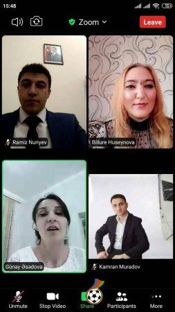 İsmayıllı Rayon Tarix-Diyarşünaslıq Muzeyinə virtual səyahət təşkil edildi - FOTO