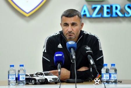 """Qurban Qurbanov: """"Futbolçular meydanda ən yaxşısını etdilər"""""""