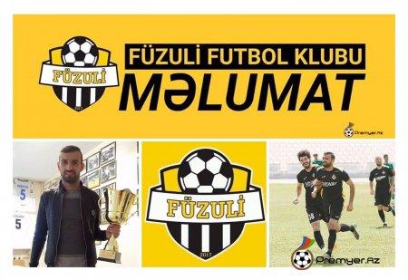 """""""Füzuli"""" FK Birinci Divizionun bombardirini TRANSFER etdi"""